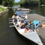 Rowing in England - Thames River Rowing Trip