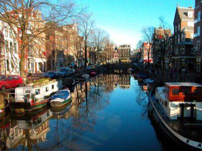 Rudern in Amsterdam