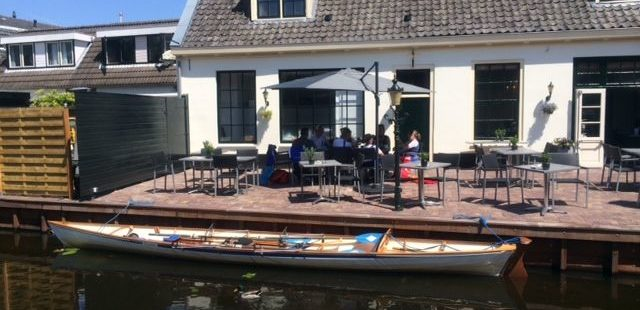 Rowing in Holland