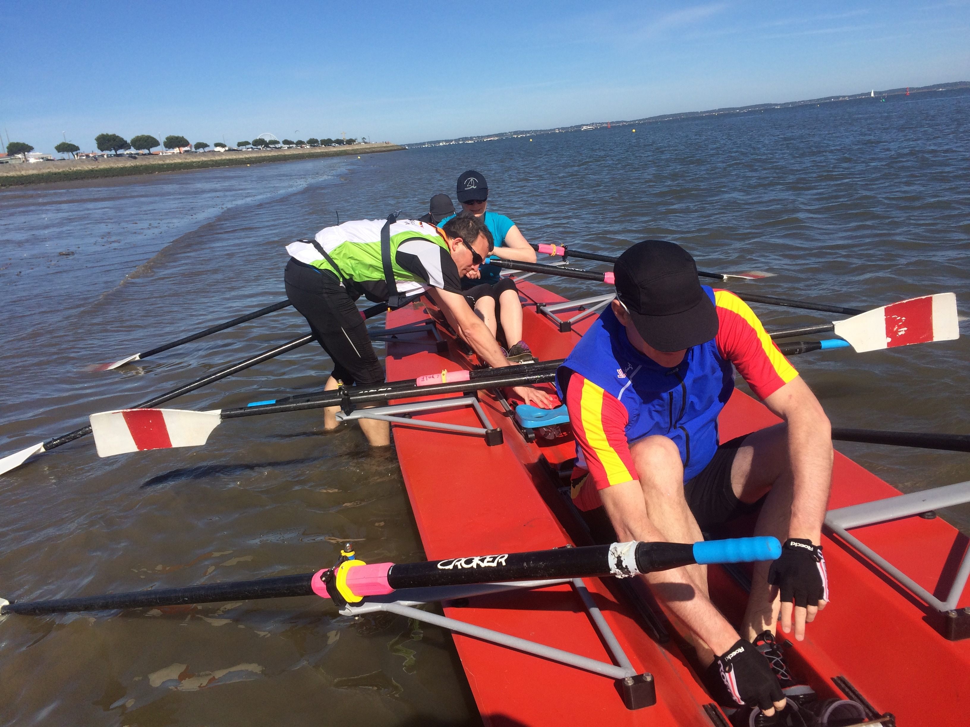 How to take care of your feet after rowing