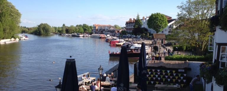 Rowing in England – Thames River Rowing Trip