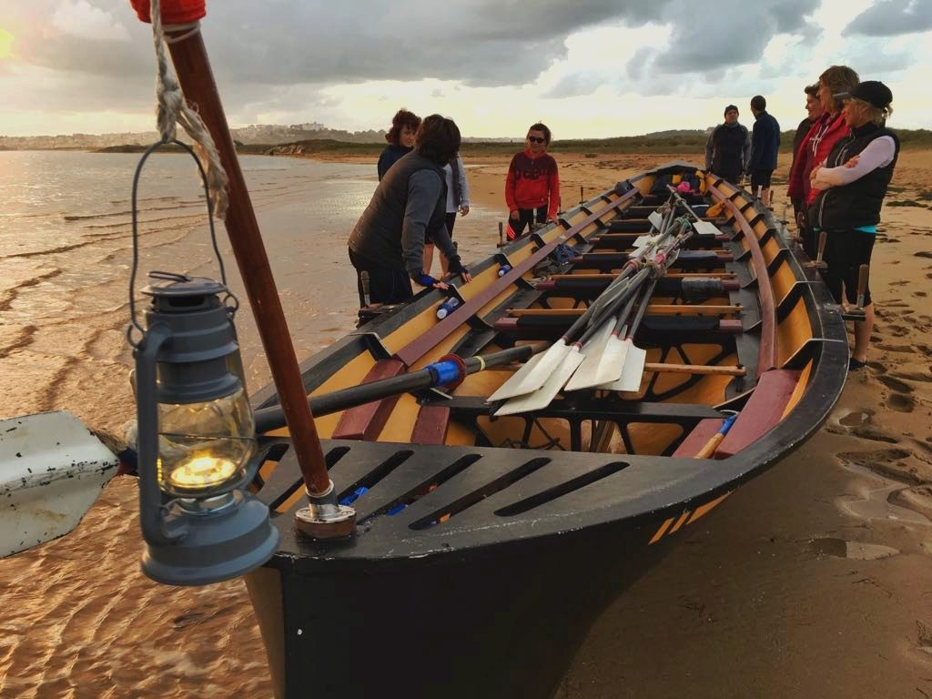 GIG - Rowing in Spain - Bay of Santander