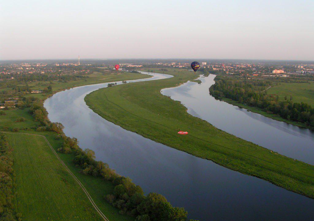 Rudern in Lettland – Auf der Lielupe